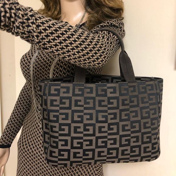Givenchy Bags   Maroquinerie Logo Monogram Canvas Black   Poshmark fa6cf4bda84